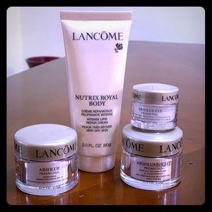 Lancôme Absolue premium creams